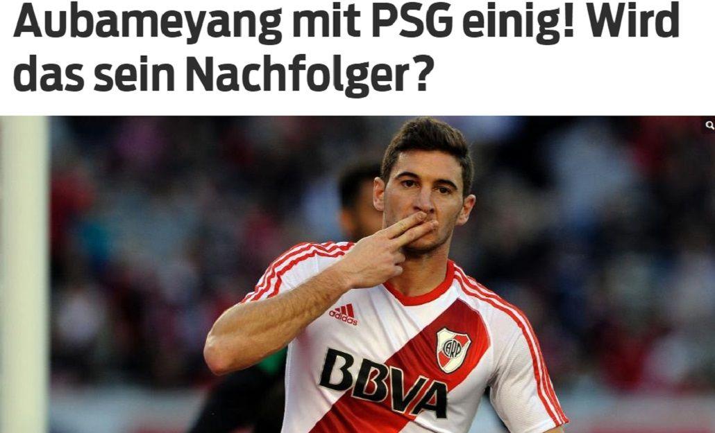 Borussia Dortmund de Alemania quiere a Lucas Alario