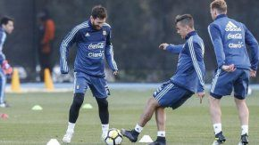 Messi, junto a Dybala en Melbourne