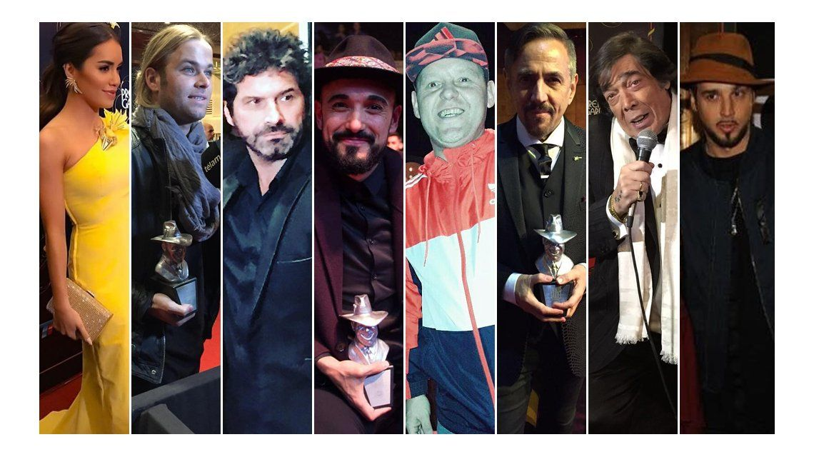 El look de los famosos en los Gardel 2017