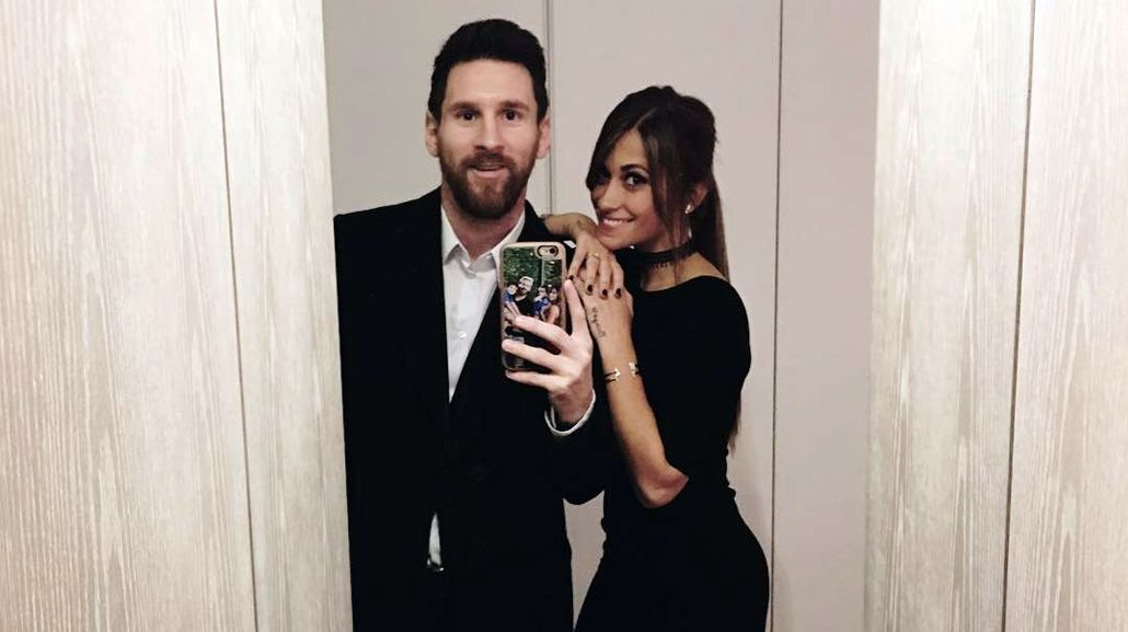 La apasionada historia de amor de Messi y Antonella
