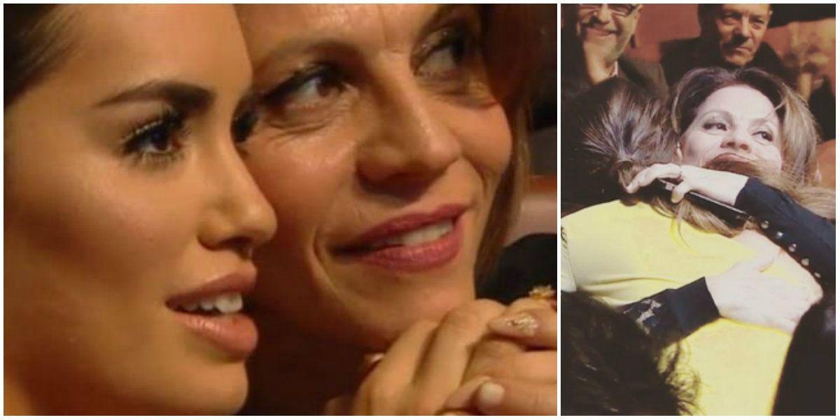 Premios Gardel 2017: el abrazo de Lali Espósito a Marcela Morelo