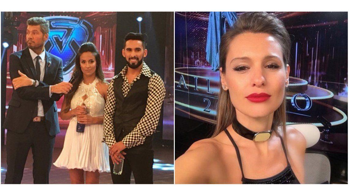 Pampita ubicó a Lourdes Sánchez en el Bailando.