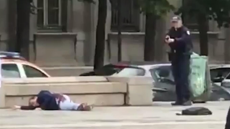 El atacante de Notre Dame dejó un video