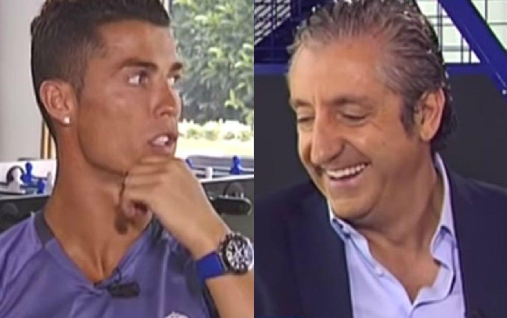 El enojo de Cristiano Ronaldo