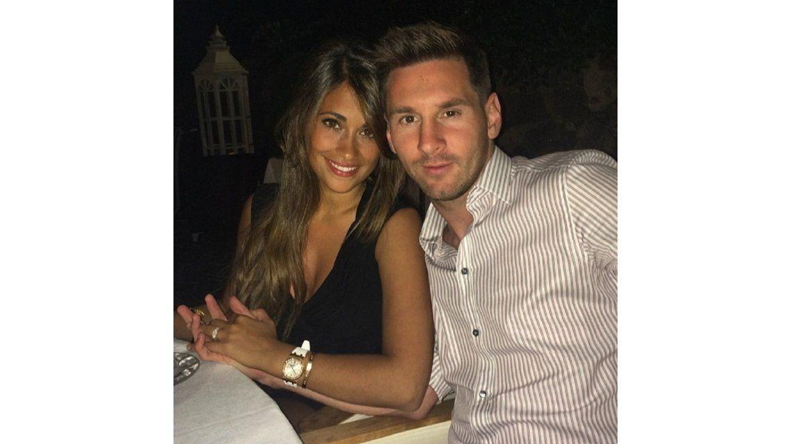 Leo Messi y Antonella Roccuzzo se casan en Rosario.