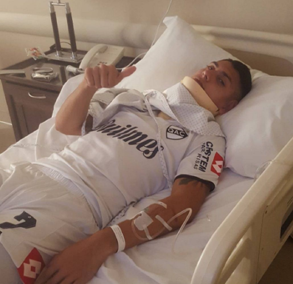 La brutal patada de Iván Furios que dejó a Matías Orihuela en el hospital