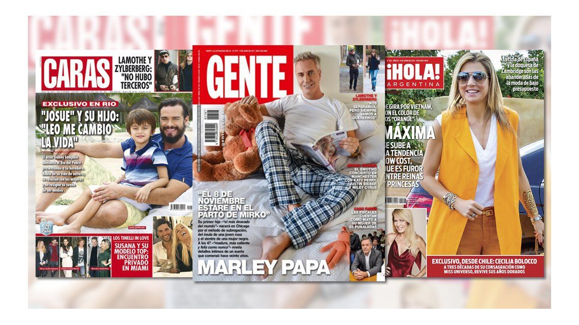 Mirá las tapas de las revistas de esta semana