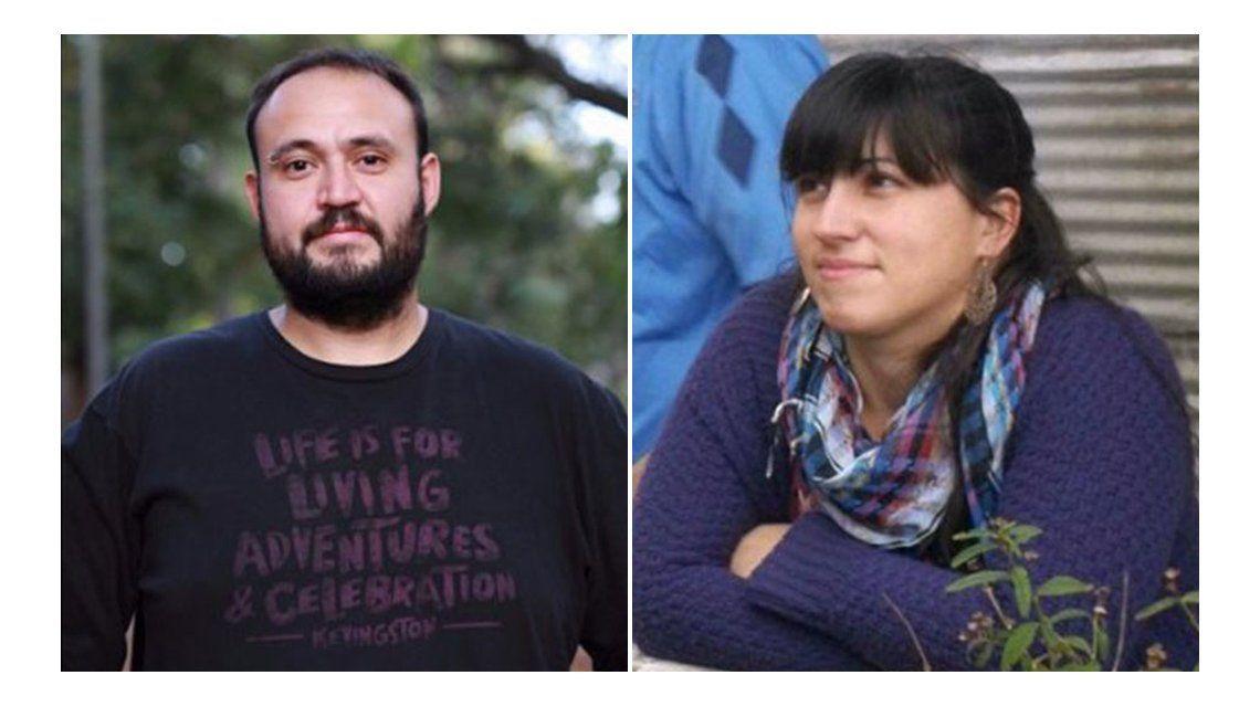 Ezequiel Castro y Laura Rimedio