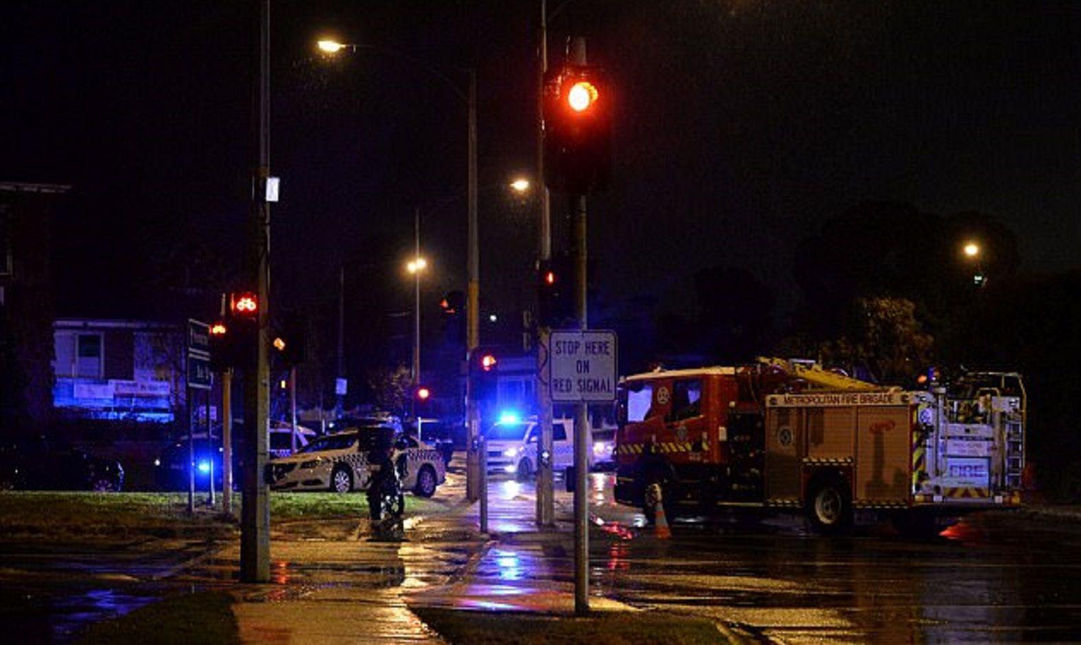 VIDEO: Así mataron al terrorista de Merlbourne cerca del hotel de la Selección
