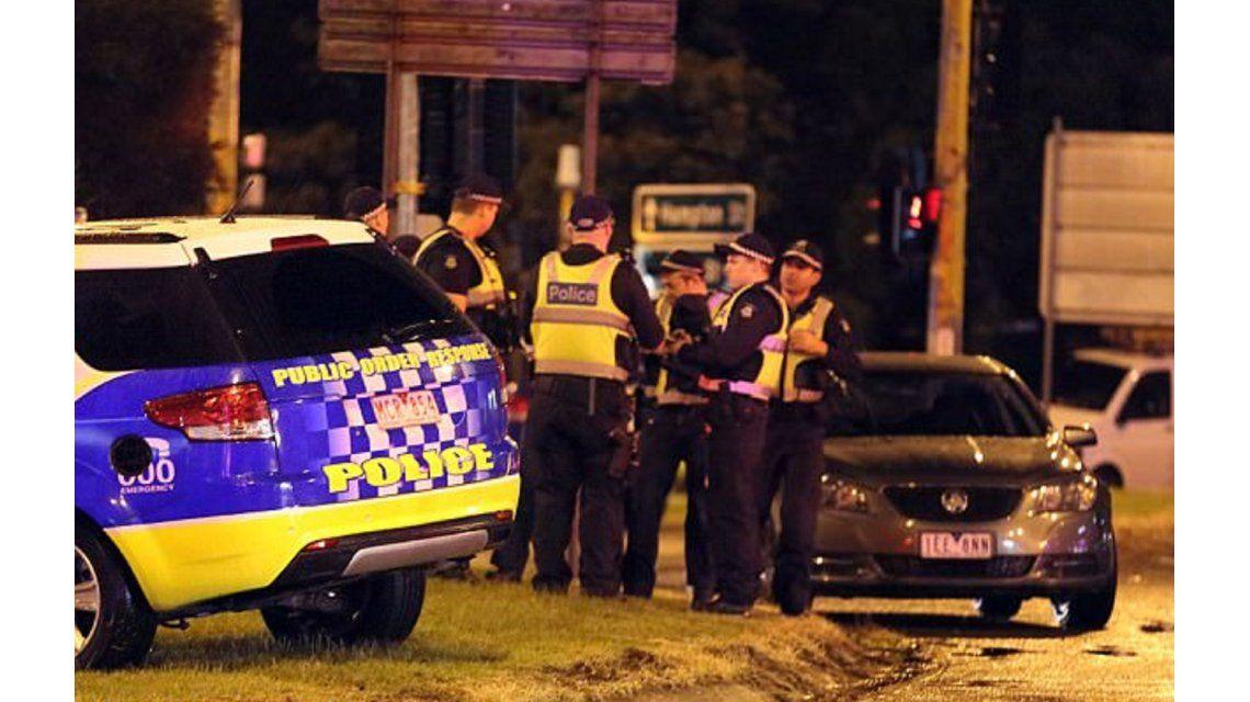 Así mataron al terrorista que atacó en Melbourne