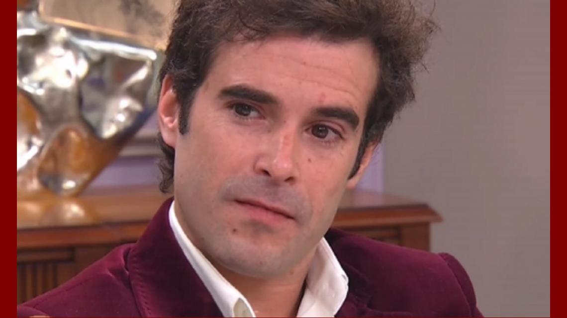 Nicolás Cabré contó cómo fueron sus últimas horas junto a Alfredo Alcón