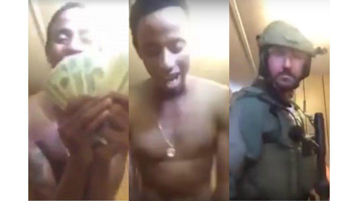 Narco presumía su dinero en Facebook Live y fue detenido
