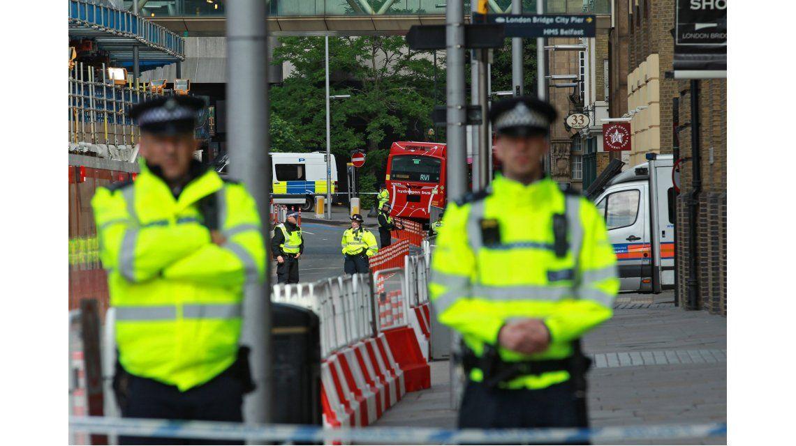 Despliegue policial en Londres