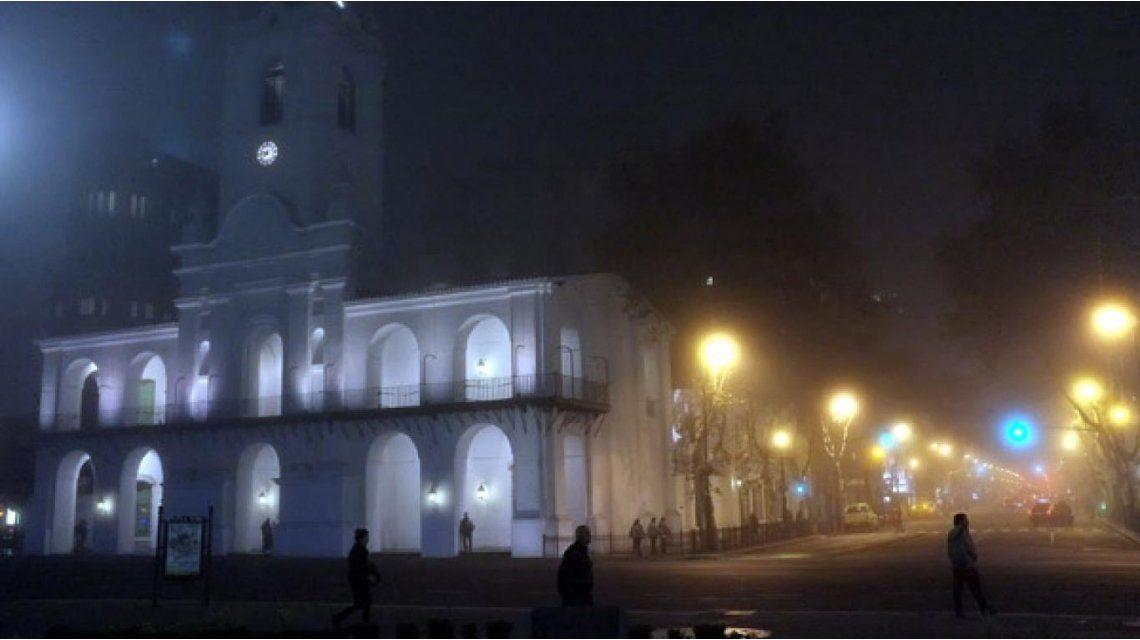 Neblina en Buenos Aires