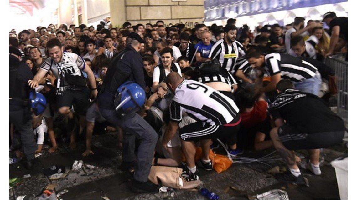 El terror colectivo provocó centenares de heridos en Turín