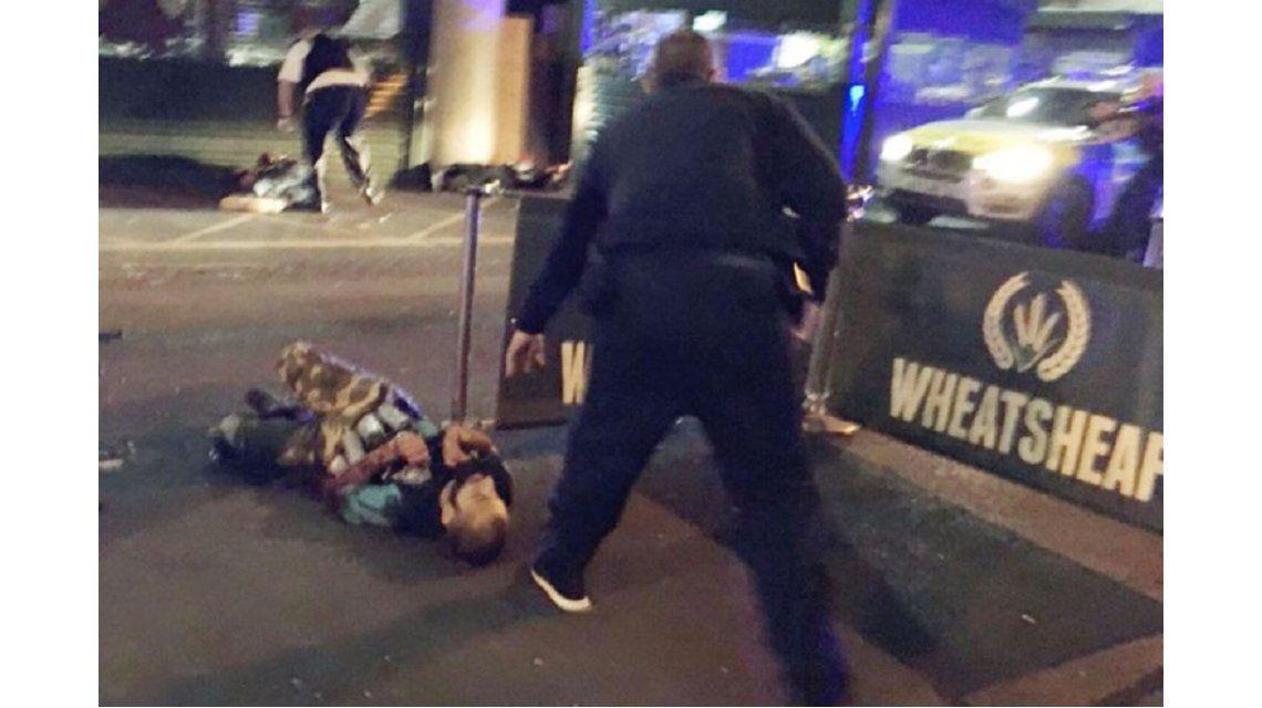 Foto de dos presuntos atacantes de Londres - Crédito:Gabriele Sciotto