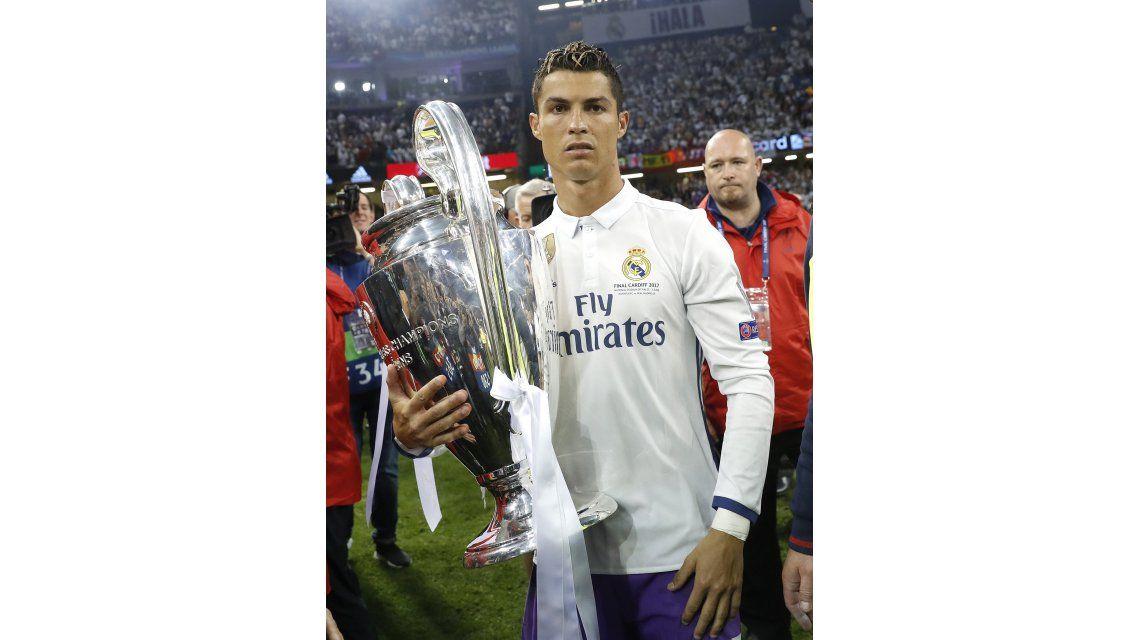La increíble frase de Cristiano Ronaldo tras ganar la Champions