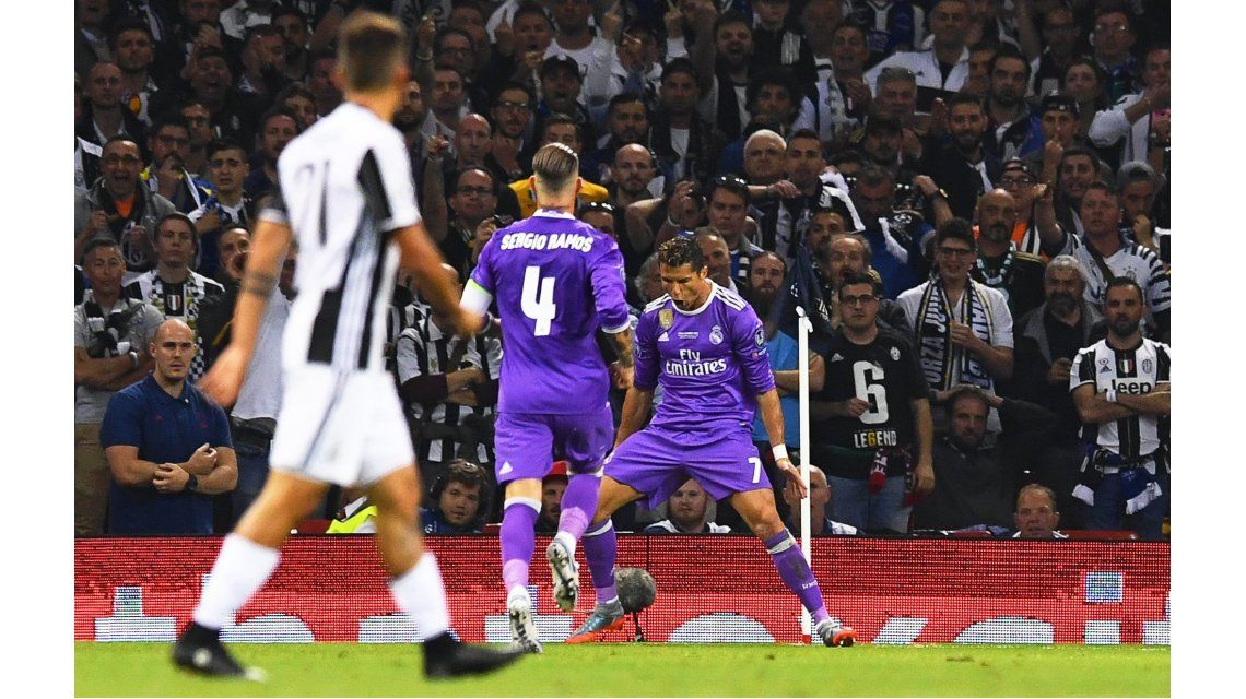 El gol de Cristiano Ronaldo para el Real Madrid ante la Juventus