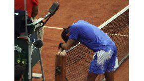 Del Potro cayó ante Andy Murray en Roland Garros