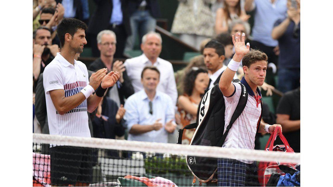 El gesto de Djokovic con Schwartzman