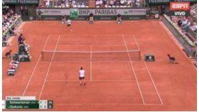 El punto de Schwartzman y Djokovic
