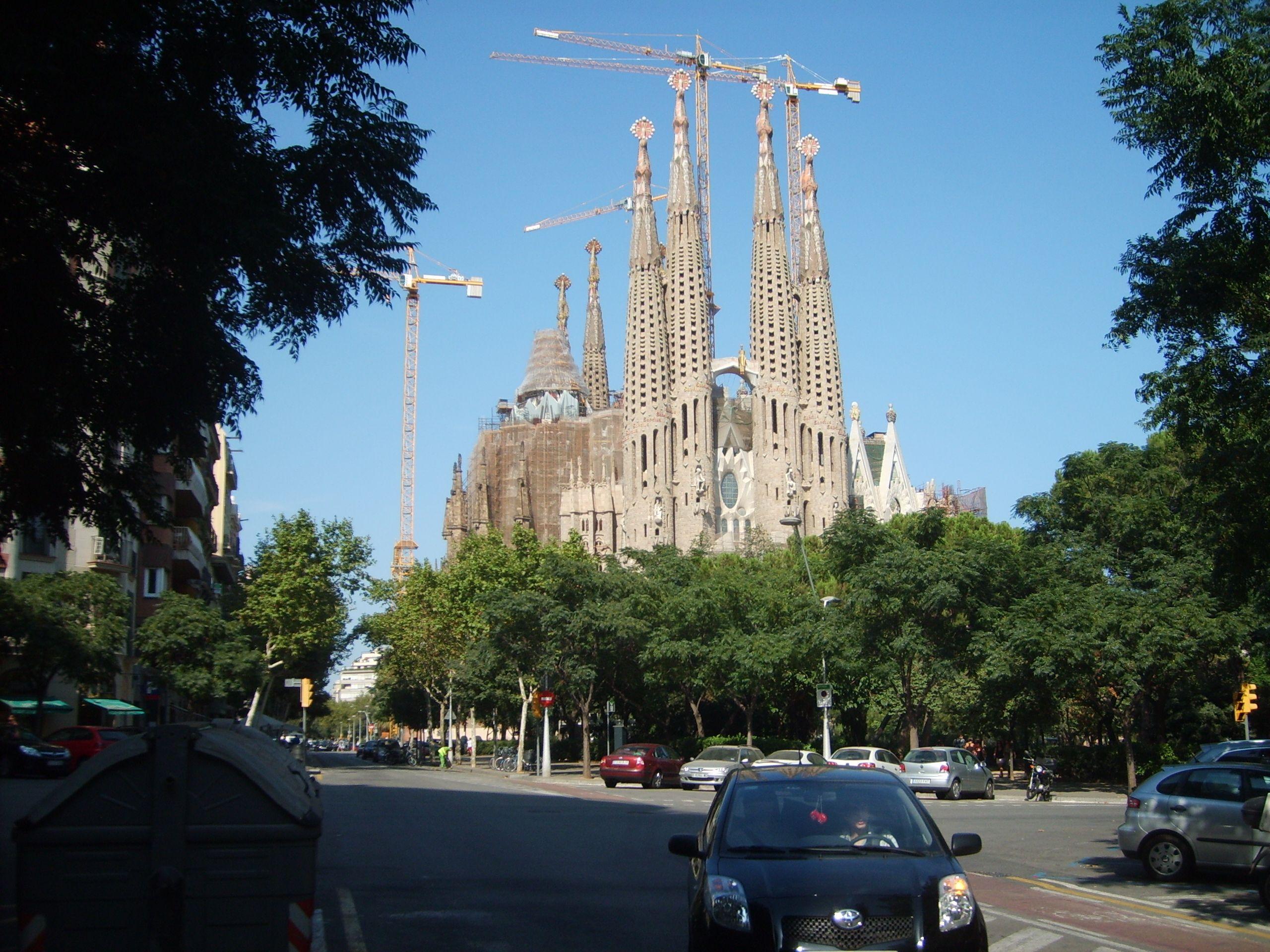 La Sagrada Familia es uno de los sitios más visitados de Europa