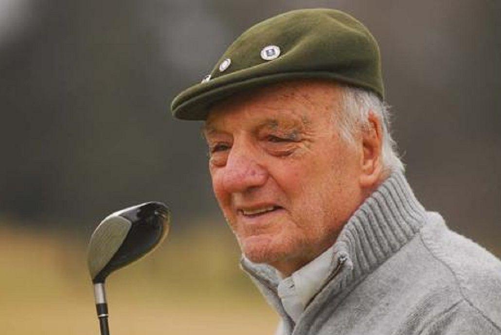 El ex golfista tenía 94 años