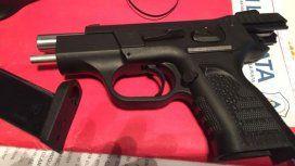 En los allanamientos encontraron armas. Crédito: diario Hoy