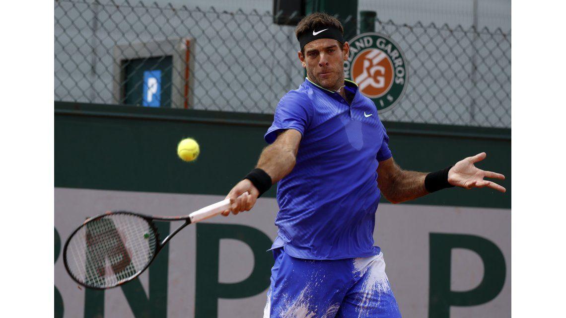 Roland Garros: Nicolás Almagro dijo basta y Del Potro pasó a tercera ronda por abandono
