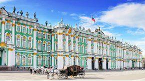 Palacio de Invierno, sede del poder zarista hasta 1917