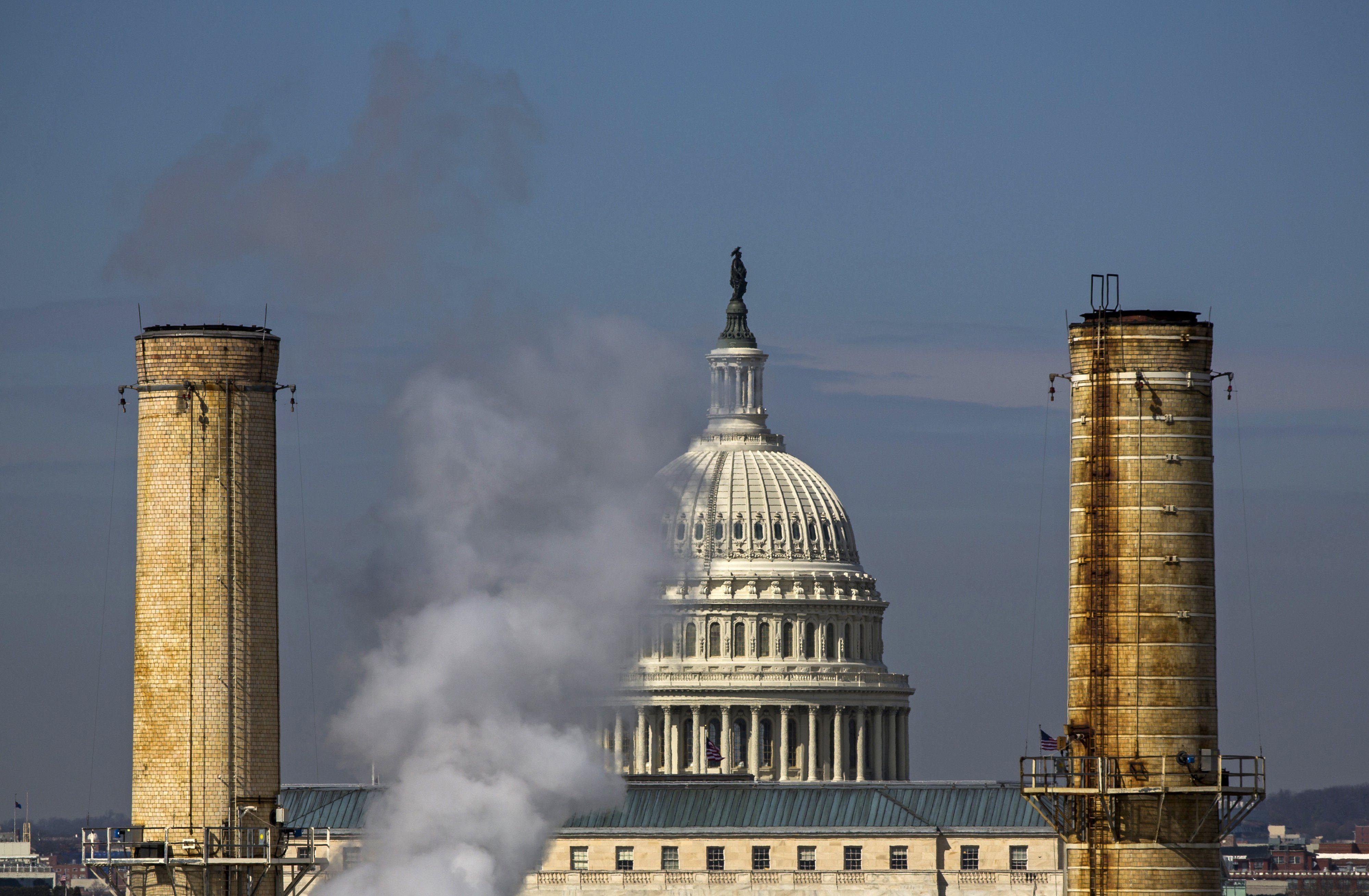 Contaminación en el Capitolio de Estados Unidos