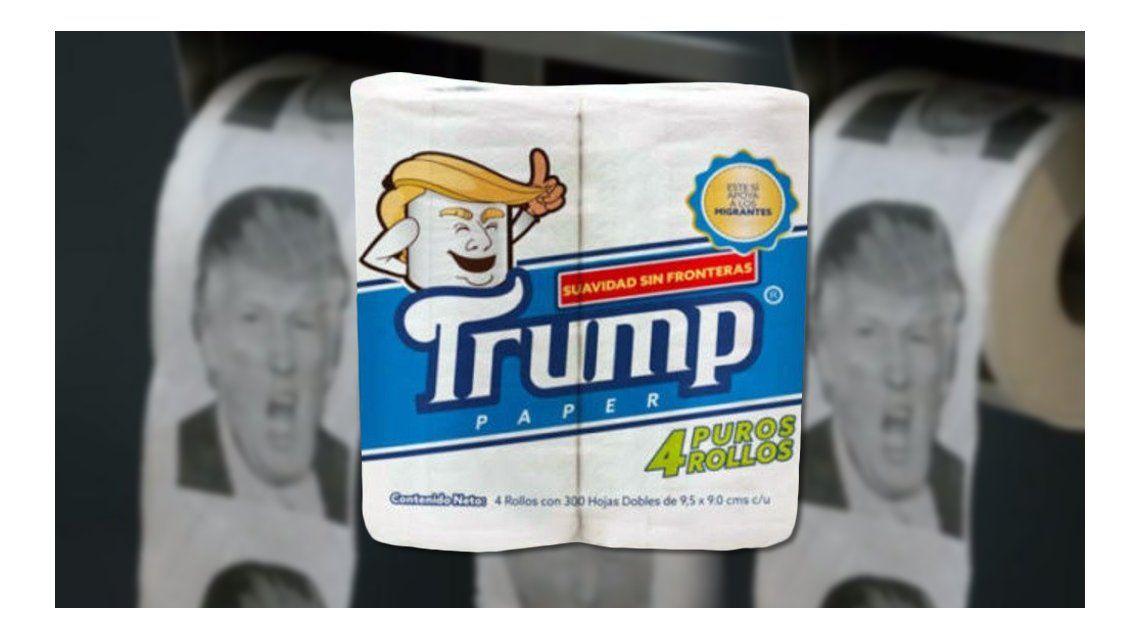 Papel higiénico de Donald Trump