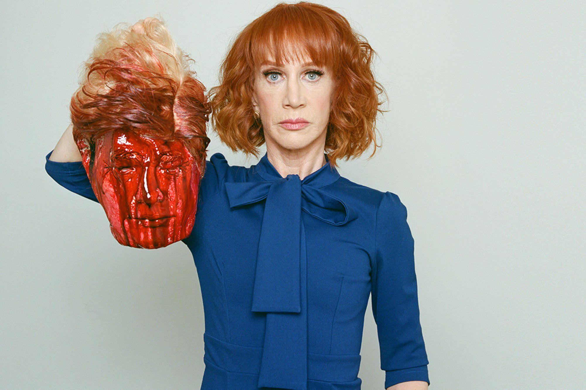 Esta es la imagen por la que fue despedida Griffin de CNN