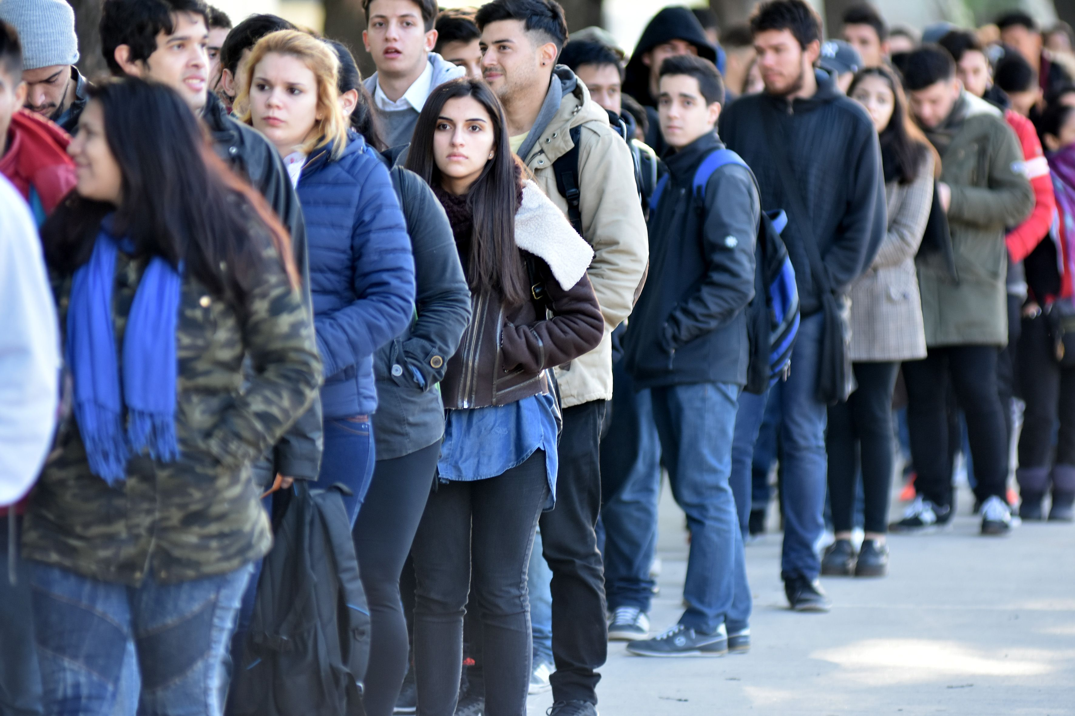 Más de 10 mil jóvenes  que asisten a la expo de empleo están sin trabajo