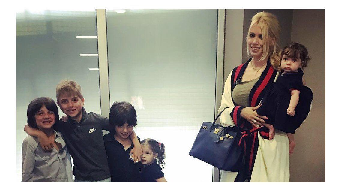Wanda y sus hijos Valentino