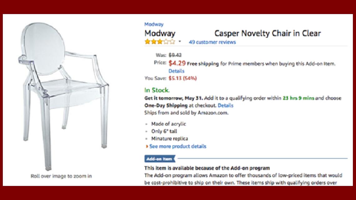 Mirá lo que compró por no haber leído la descripción de un producto en internet