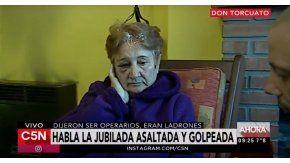 La jubilada golpeada y asaltada en Don Torcuato