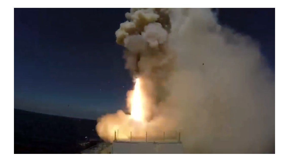 Rusia lanzó misiles contra el Estado Islámico