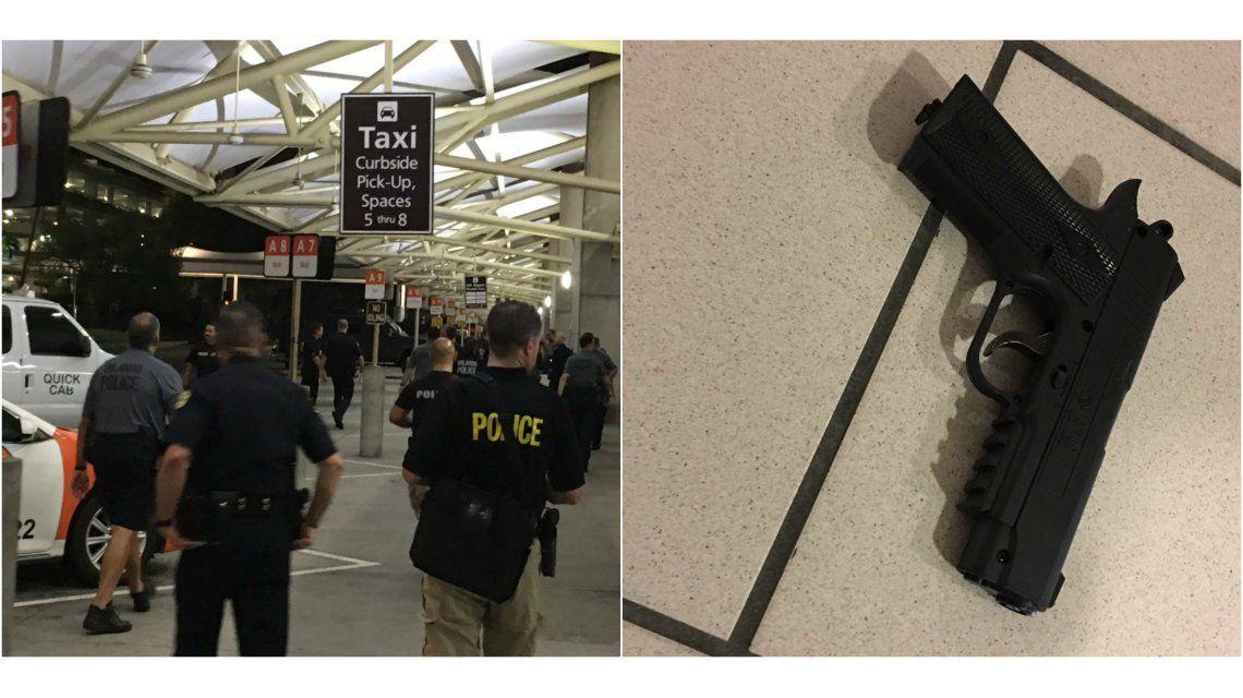 Policía de Florida y el arma del hombre con facultades mentales alteradas