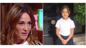 Verónica Lozano recibió el saludo de su hija Antonia para su cumpleaños.