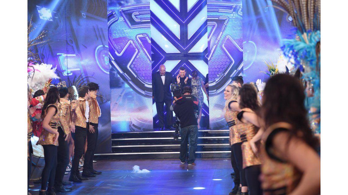 Marcelo Tinelli volvió a la televisión con ShowMatch