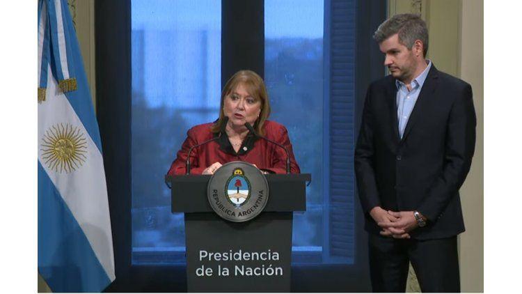 La canciller Malcorra anuncia su renuncia