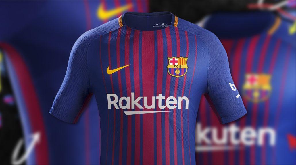 Ésta es la camiseta que el Barcelona usará la próxima temporada