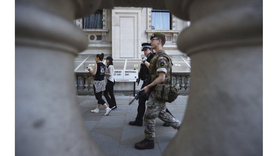 Presencia policial y militar en Inglaterra