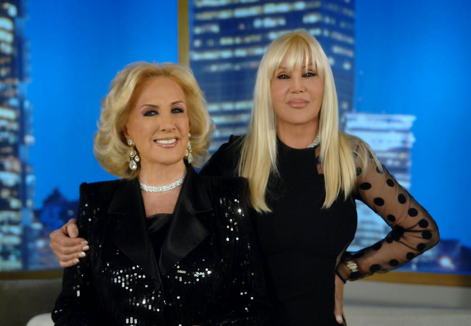 Mirtha Legrand y Susana Giménez