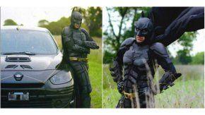 El Batman solidario de La Plata