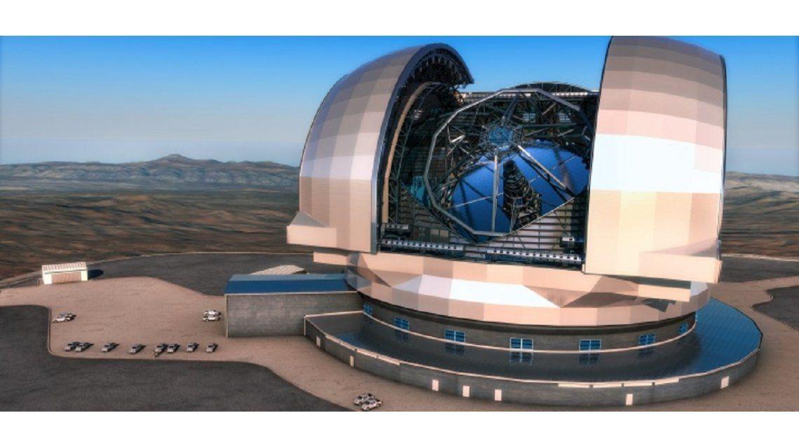 El telescopio de Atacama estará disponible en 2024 - Crédito: www.biobiochile.cl