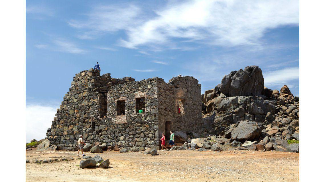 Minas de oro de Bushiribana en Aruba