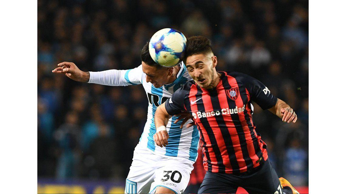 San Lorenzo cayó ante Racing y perdió la chance de acercarse a Boca