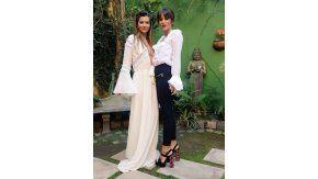 La China Suárez y Gimena Accardi, eternas amigas